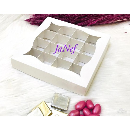 16 Bölmeli Pencereli Karton Kutu