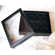 Pencereli Karton(Cupcake)Kutusu 25x30x9