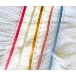 10 mm Saten Şeritli Şifon Kurdele
