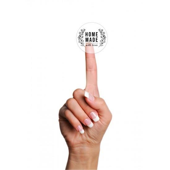 Şeffaf Sticker,Home Made