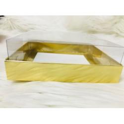20x20x5 Asetat Kapaklı Kutu Metalize