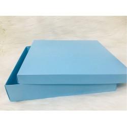 Karton Kutu Mavi 33x33x7