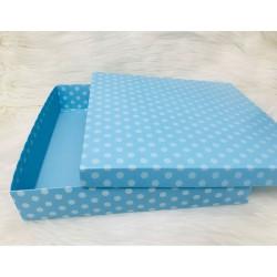 Karton Kutu Mavi P 33x33x7
