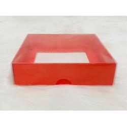 18x18x4 Asetat Kapaklı Kutu