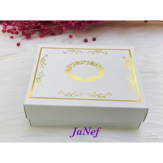 Karton Kutu Yaldız Baskılı 12x15x5