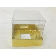 5x5x5 Asetat Kapaklı Kutu Metalize