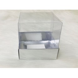 7x7x7 Asetat Kapaklı Kutu Metalize