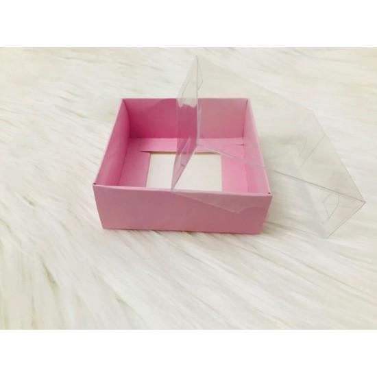 8x8x3 Asetat Kapaklı Kutu
