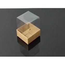 5x5x5 Asetat Kapaklı Kutu