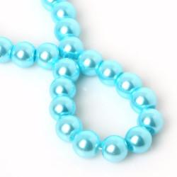 İnci Boncuk Mavi 6 mm