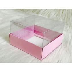 10x10x6 Asetat Kapaklı Kutu