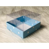 10x10x6 Asetat Kapaklı Kutu Puantiyeli