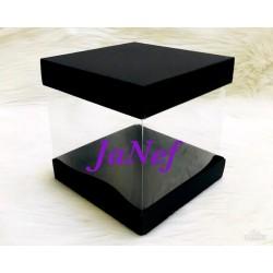 20x20x20 Asetat Alt-Üst Karton Kutu