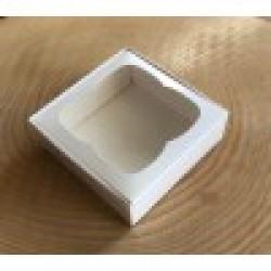 10x10x3 Pencereli Kutu Beyaz