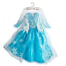 Elsa Kostüm Frozen Karlar Ülkesi