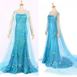 Elsa Yetişkin Kostüm