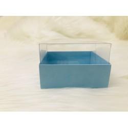 9x9x6,5 Asetat Kapaklı Kutu