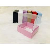 8x8x8 Asetat Kapaklı Kutu