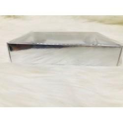 21x26x4 Asetat Kapaklı Kutu Metalize
