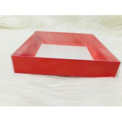 15x15x3 Asetat Kapaklı Kutu