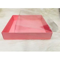 33x33x7 Asetat Kapaklı Kutu