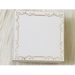 8x8x5 Karton Kutu Beyaz (Desen 3)