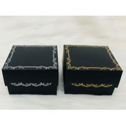 8x8x5 Karton Kutu Siyah (Desen 3)