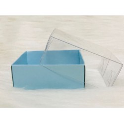 6x6x2,2 Asetat Kapaklı Kutu