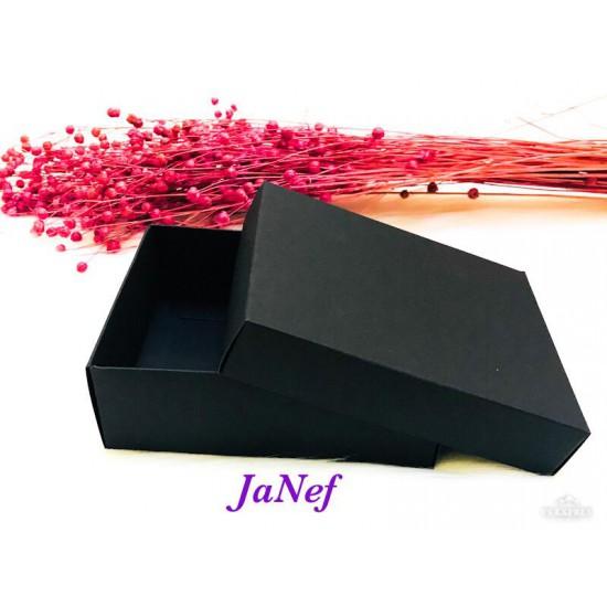 Karton Kutu Siyah 12x15x5