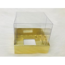 6x6x6 Asetat Kapaklı Kutu Metalize