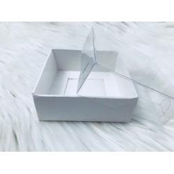 9x9x3 Asetat Kapaklı Kutu