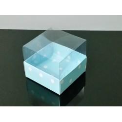 9x9x6,5 Asetat Kapaklı Kutu Puantiyeli