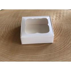 8x8x3 Pencereli Kutu Beyaz