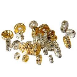 Kristal Taşlı Ayraç (10 adet)
