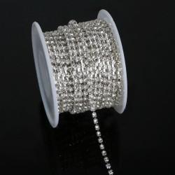 Kristal Taşlı Şerit 2 mm