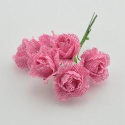 Jüt Renkli Yapay Çiçek